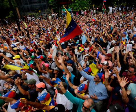 Москва призвала Вашингтон не вмешиваться в события в Венесуэле