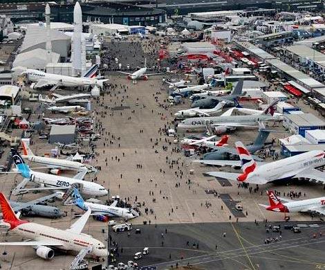 ВЛеБурже стартовал международный авиасалон