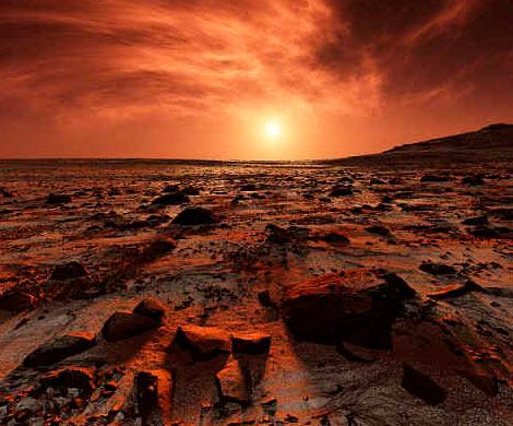 На Марсе нашли крокодила с бутылкой