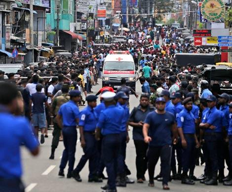 На Шри-Ланке новый взрыв