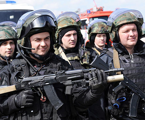 76% граждан России ожидают отРосгвардии поднятия уровня безопасности
