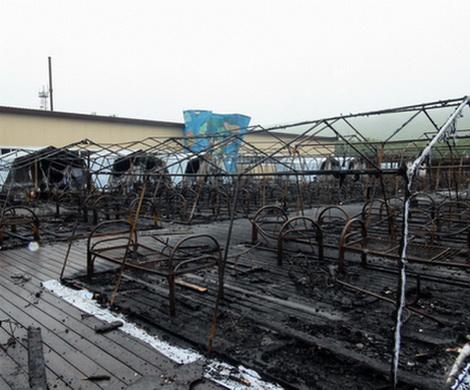 Названа причина пожара в детском лагере в Хабаровском крае