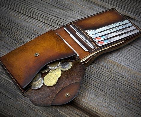 Новосибирец изобрел кошелёк, который нереально потерять