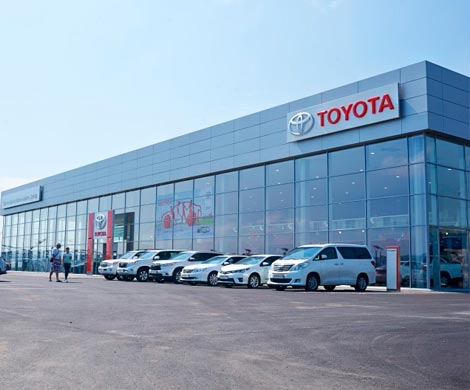 Красноярская «Крепость» должна «Тойота Банку» 100 млн руб.