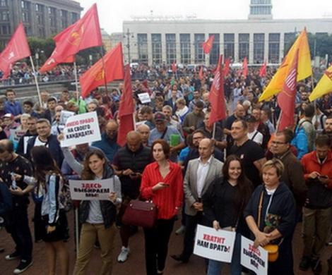 Петербуржцы призвали соперников Беглова сняться с гонки