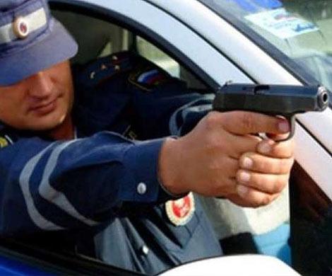 Погоня милиции сострельбой навостоке Петербурга угодила навидео