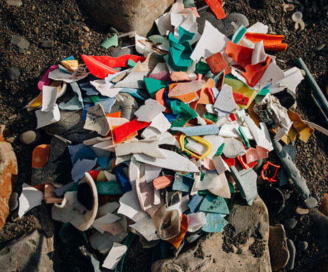 Полтонны пластика нашли на побережьях Черного и Азовского морей