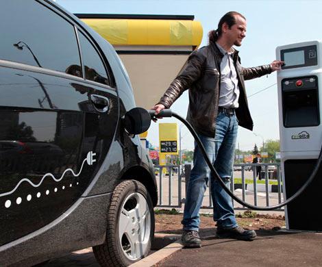 Популярность электромобилей в России увеличивается