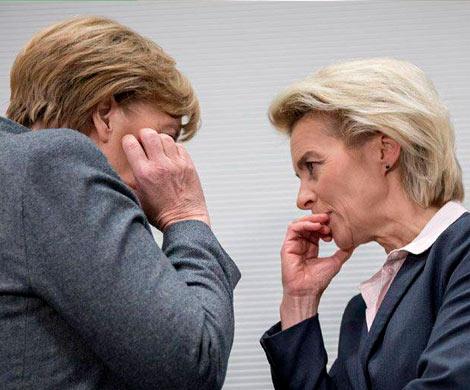 Преемница Меркель поработает под ее руководством