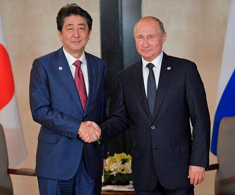 Путин и Абэ сосредоточатся на экономике