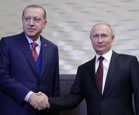 Переговоры В. Путина иЭрдогана вСочи. результаты
