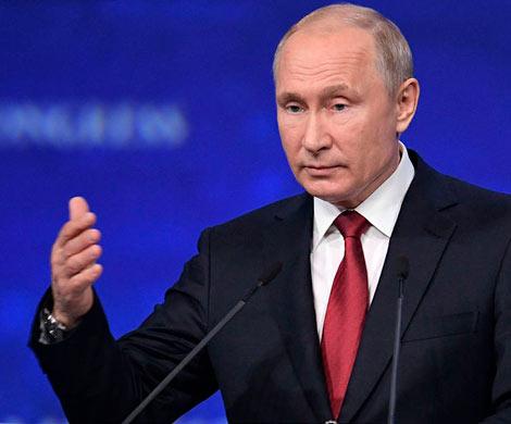 Путин верит в налаживание диалога с Киевом