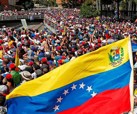 Россия ожидает американских провокаций в Венесуэле