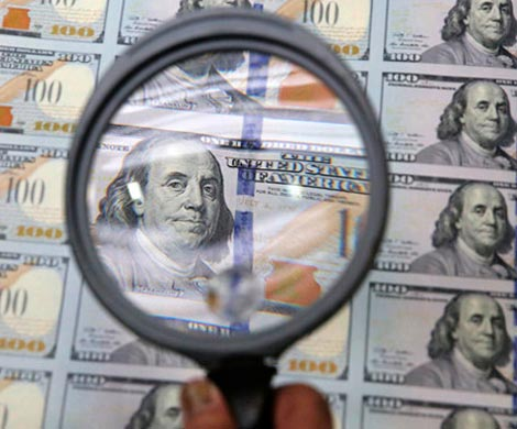 Россия сокращает вложения в американские облигации