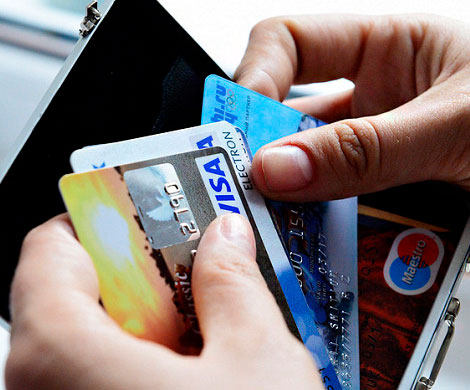 Россияне потратили карточные кредиты на 374 млрд рублей