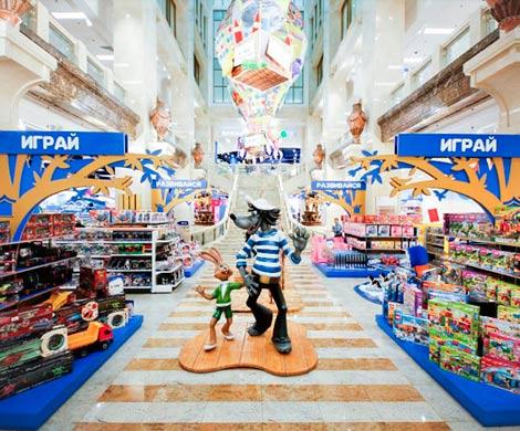 Россияне раскупают отечественные игрушки