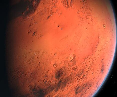 Россиянин нашел на Марсе готовый к старту звездолет