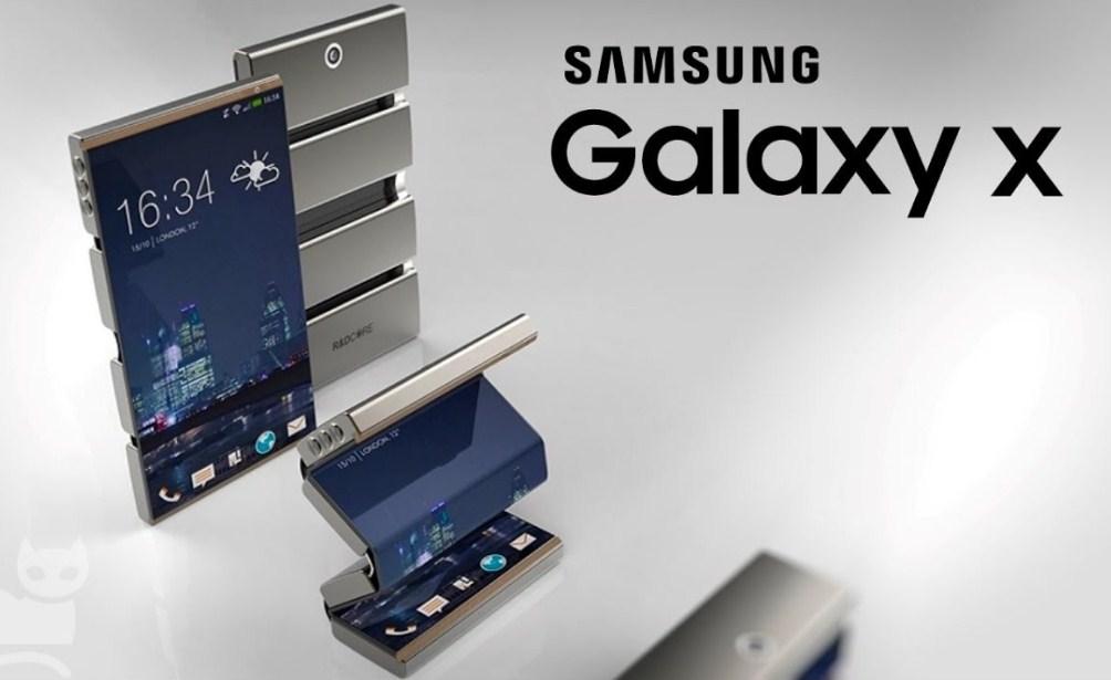 Самсунг: «Мывыпустим складной смартфон в2018»
