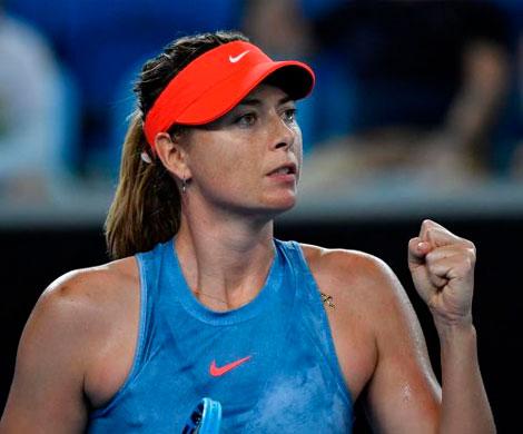 Шарапова вышла в четвертый круг Australian Open