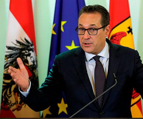 Боснийская студентка подставила вице-канцлера Австрии