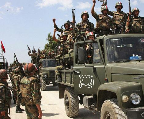 Контролируемая боевиками территория вАлеппо сократилась натреть