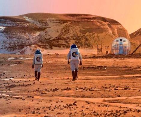 Слой из силикатного аэрогеля может сделать Марс пригодным для жизни