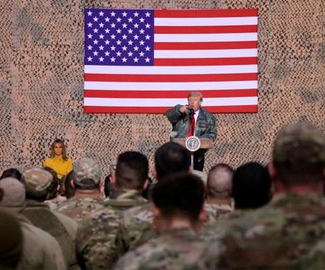 СМИ сообщили об опасном для солдат в Ираке посте Трампа