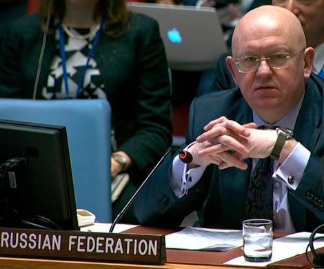 Совбез ООН: Небензя часы не замечает