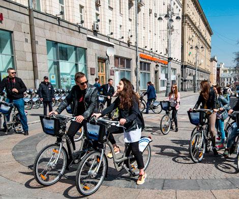 Столичные велосипедисты совершили около 2 млн поездок за два месяца