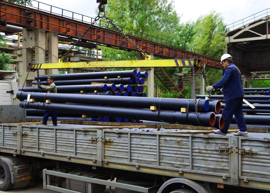 Строители метро Москвы предпочитают трубы из высокопрочного чугуна от ЛТК «Свободный сокол»