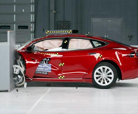 Tesla Model 3 успешно прошла краш-тест Euro NCAP