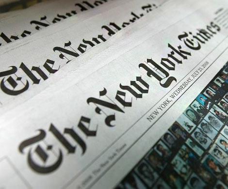 New York Times настояла на«спорном» статусе Крыма
