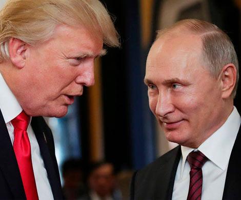 Трамп намерен поговорить с Путиным об Украине и Иране