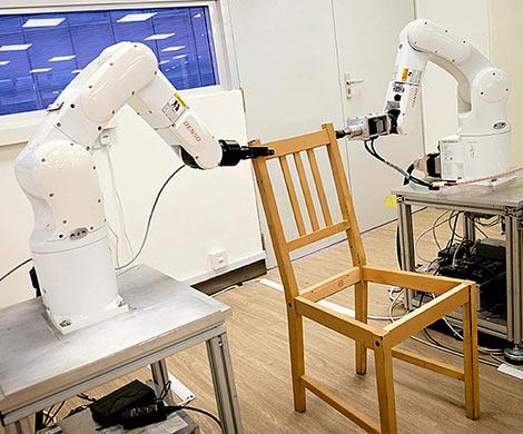 ВСингапуре роботов обучили собирать стулья изIKEA
