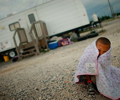 40% детей США проживают вбедности