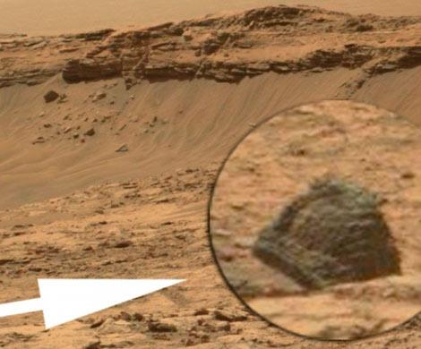 Уфологи считают, что имудалось найти наМарсе «кассовый аппарат»