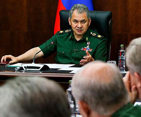 В армии подвели промежуточные итоги руководства Шойгу