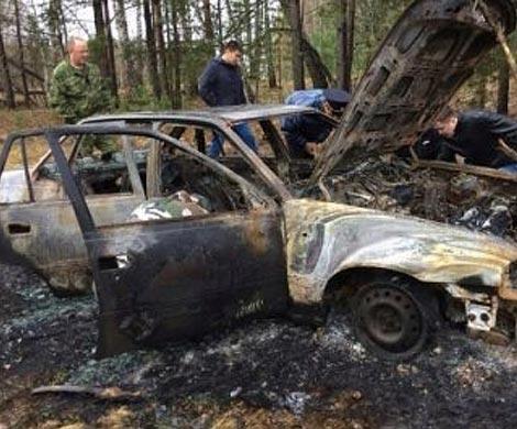 Двое астраханцев убили исожгли таксиста вего машине