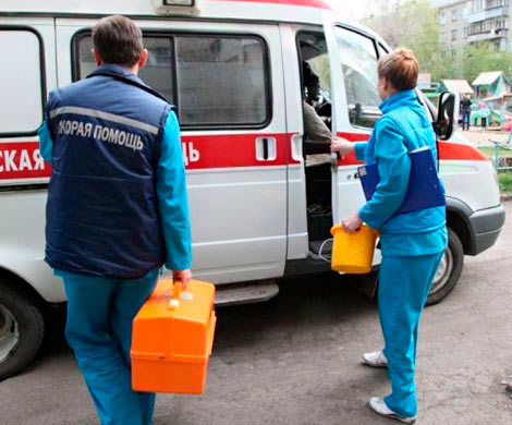 В столице России нетрезвый больной напал набригаду скорой помощи