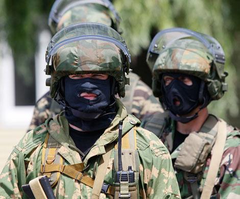 ВЧечне при попытке пробиться вчасть Росгвардии убиты 6 боевиков