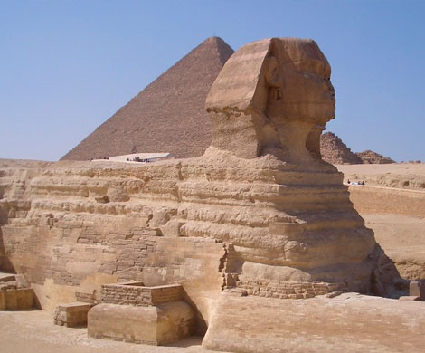 В Египте найдено неизвестное захоронение в храме сфинкса