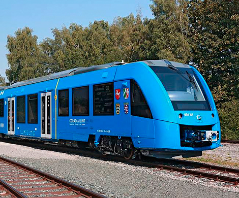 ВГермании протестировали 1-ый вмире поезд наводородном горючем