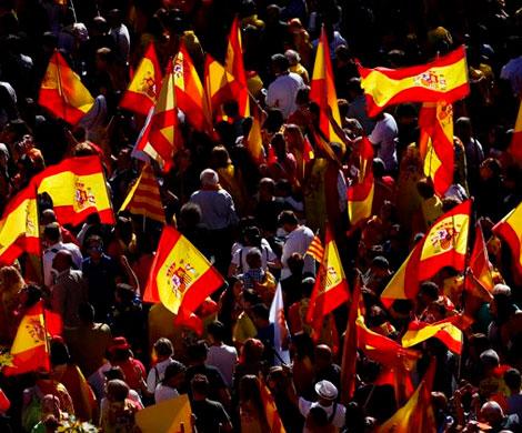 В Каталонии вышли на улицы сторонники независимости