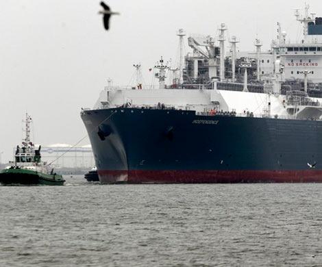 Литва приняла 1-ый танкер с североамериканским СПГ