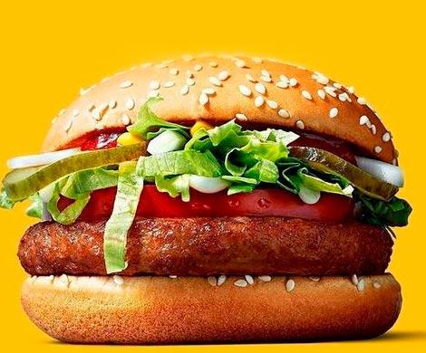 В McDonald's Германии впервые появится бургер для веганов