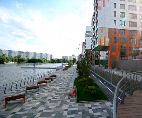 В Москве будут застраиваться набережные
