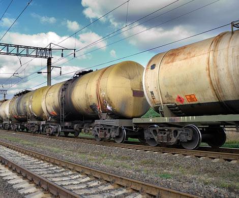 ВМытищах перевернулась железнодорожная цистерна ссоляркой