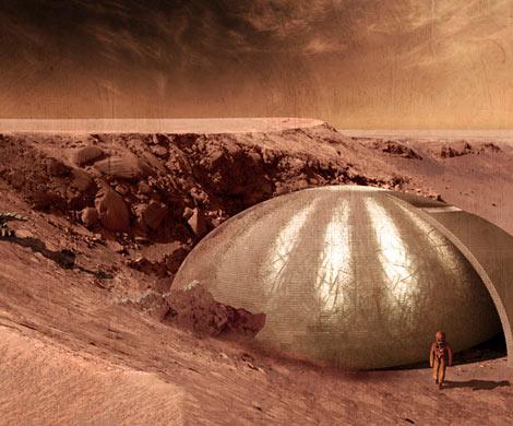 NASA изобрели надувные теплицы для Марса