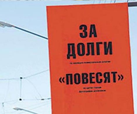 ВНижегородской области коллекторы повесили пса должницы