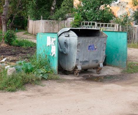 Тело новорожденной малышки отыскали вмусорном баке вНижнем Новгороде
